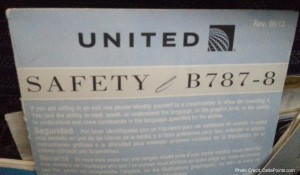 united 787-8 safety card delta points blog