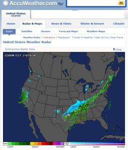 AccuWeather-com United Stats Weather Radar 2FEB2014