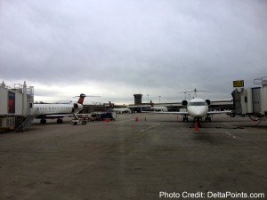 delta crj900 jets in SLC Salt Lake Utah Delta Points blog