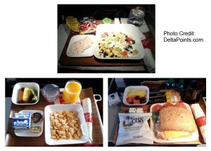 delta regional jet breakfast lunch and dinner cold delta points blog