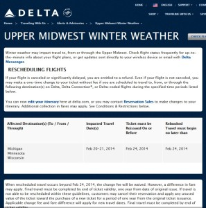 delta upper midwest winter weather advisory delta-com