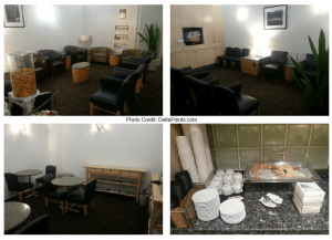 AA lounge SAN airport delta points blog