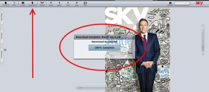 how to download the delta SKY magazine in PDF to read off-line 2