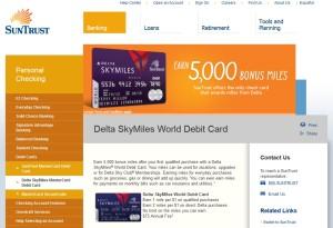 suntrust debit card