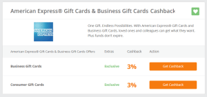 3percent off amex gift cards