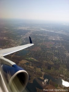 climing out of MSP delta points blog