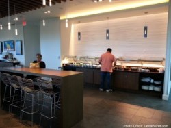 food area centurion lounge dfw delta points review