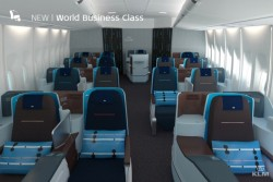 new klm business seats