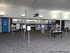 Check-in for United SBN South Bend Airport Delta Points blog