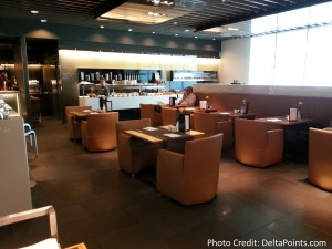 Lufthansa MUC 1st class lounge delta points blog (1)