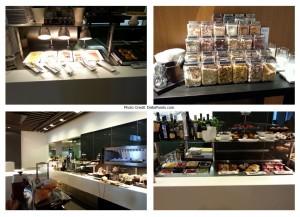 breakfast choices lufthansa 1st class terminal FRA airport