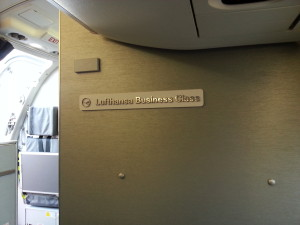 intra europe lufthansa business class delta points blog