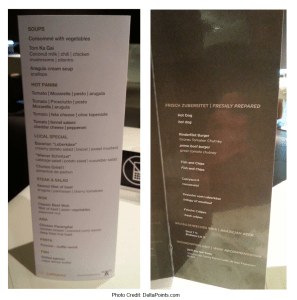 std and worldcup lunch menu lufthansa 1st class lounge fra airport delta points blog