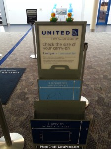 the double carry-on bag checker unit at united check-in sbn delta points blog