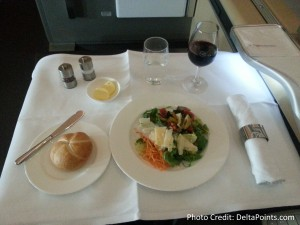 Lufthansa 1st class munich to Toronto A330 DeltaPoints blog review (16)