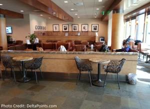 Alaska boardroom LAX airport delta points blog