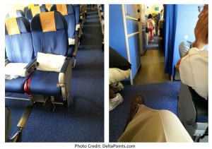 KLM 777 economy comfort seat 11G skyteam delta points blog review