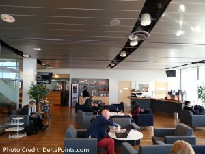 skyteam lounge gothenburg sweden delta points blog (2)