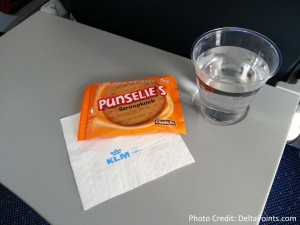 snack KLM ams to got