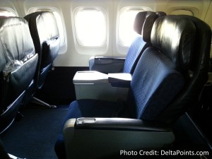 American Air 1st class domesic seat delta points blog (1)