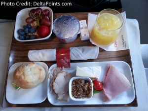 cold plate breakfast delta points blog