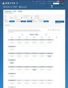 delta flexable booking dates new page