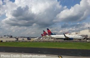 delta tails atlanta airport delta points blog