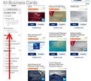 biz credit cards