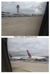 dtw airport end delta points mileage run to phx