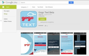 gogo text android sprint delta points blog