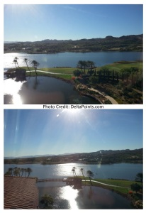view from my windows suite westin lake las vegas delta points blog