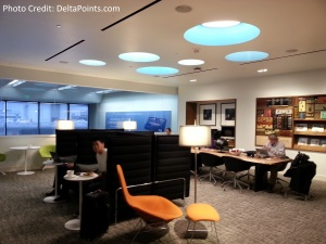 SFO San Francisco AMEX Centurion lounge Delta Points blog (14)