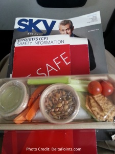 luvo snack delta shuttle lax sfo delta points blog
