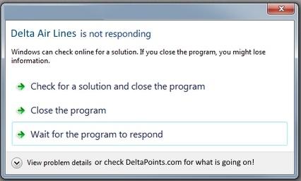 Delta air lines errors 2015