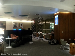 The American Express Centurion lounge AMEX LAS Las Vegas airport delta points blog 14