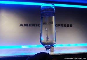 The American Express Centurion lounge AMEX LAS Las Vegas airport delta points blog 1