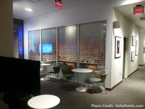 The American Express Centurion lounge AMEX LAS Las Vegas airport delta points blog 5