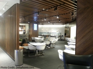 The American Express Centurion lounge AMEX LAS Las Vegas airport delta points blog 6