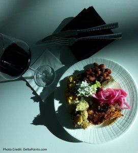 lunch at the dfw amex centurion club delta points blog