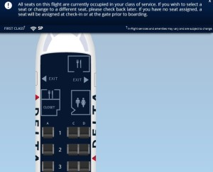 If you have no seat assigned, a seat will be assigned at check-in or at the gate prior to boarding Delta Air Lines