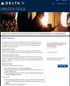 targeted NYC delta gold status