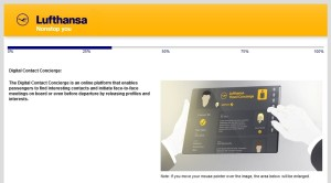 Lufthansa business class new product survey delta points blog (5)