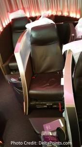 Virgin Atlantic Upper Class seats A330 Atlanta to Manchester England Delta Points blog (4)