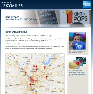amex king of pops event atl 20th