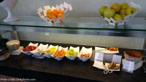 Centurion Club Miami Breakfast choices (1)