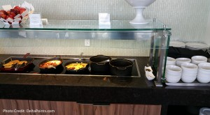 Centurion Club Miami Breakfast choices (2)