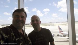 Centurion Club Miami Rene and blog reader Joe