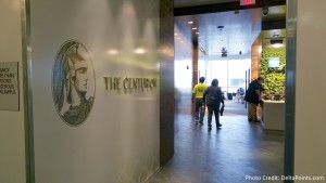 Centurion Club Miami entrance off elevator delta points blog