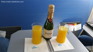 KLM Euro business class from Manchester to Amsterdam then to Gothenburg Delta Points blog (3)