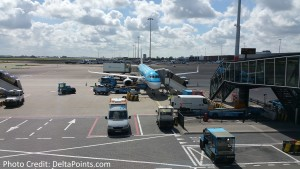 KLM Euro business class from Manchester to Amsterdam then to Gothenburg Delta Points blog (5)